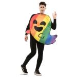 Disfraz de Fantasma Arcoiris para adulto