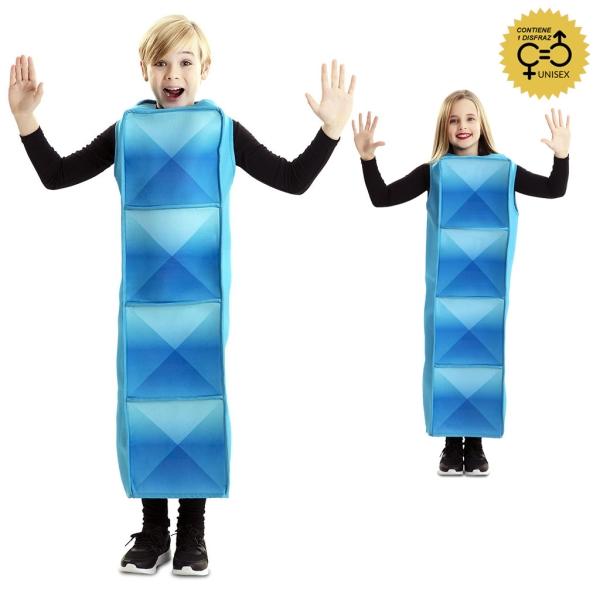 Tetrimino cyan 6 a 10 años para infantil
