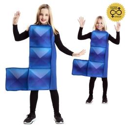 Tetrimino Azul Infantil