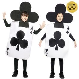 Disfraz de As de Trebol para infantil