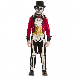 Disfraz de Domador Esqueleto para niño