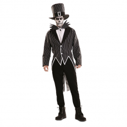 Disfraz de Esqueleto Elegante para hombre