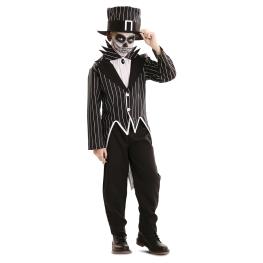 Disfraz de Esqueleto Elegante para niño