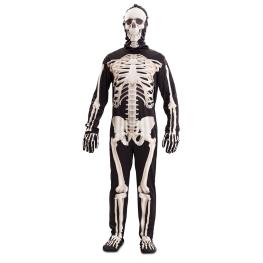 Disfraz de Esqueleto de luxe para adulto
