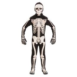 Disfraz de Esqueleto de luxe Infantil