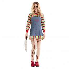Disfraz de niña Poseida para mujer