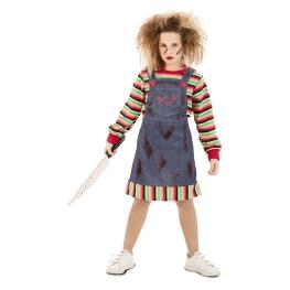 Disfraz de niña Poseida para niña