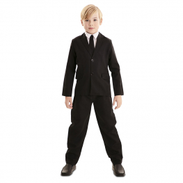 Disfraz de Traje Negro Infantil