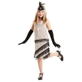 Disfraz de Señorita de Los años 20 para niña