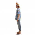 Disfraz de Camisa Hawaiana Talla ML para adulto