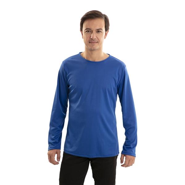 Camiseta Azul Talla ML para adulto