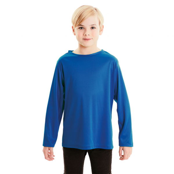 Camiseta Azul 7 a 9 años para infantil