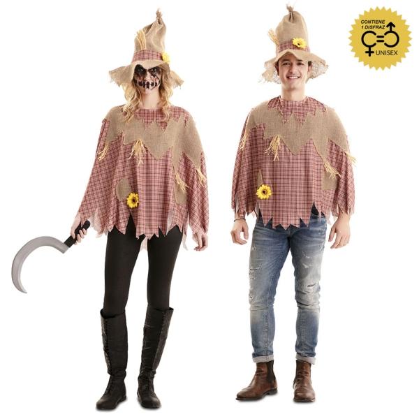 Disfraz de Poncho Espantapajaros