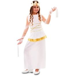 Disfraz de Atenea para niña