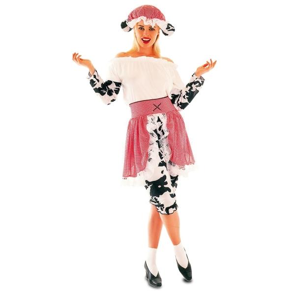 Disfraz de Vaca para Mujer