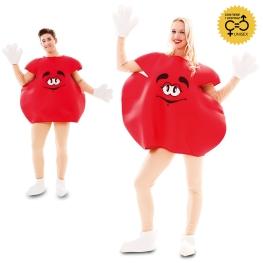 Disfraz de Caramelo rojo adulto