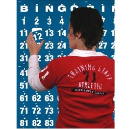 Panel de bingo 1x1 m