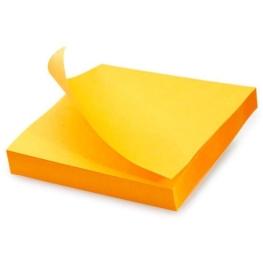 Notas adhesivas 7,5x7,5 cm