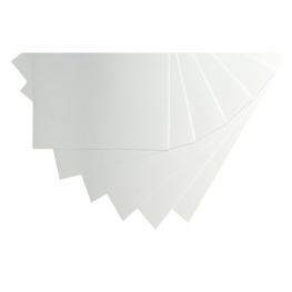 Paquete cartulinas blancas