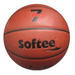 Balón básquet cuero