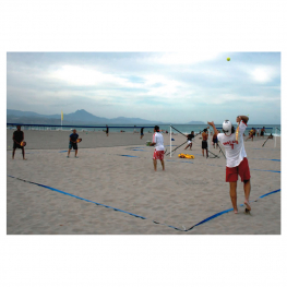 Set tenis playa