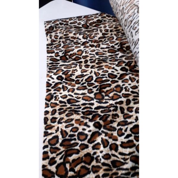 Metro antelina leopardo ancho 150cm