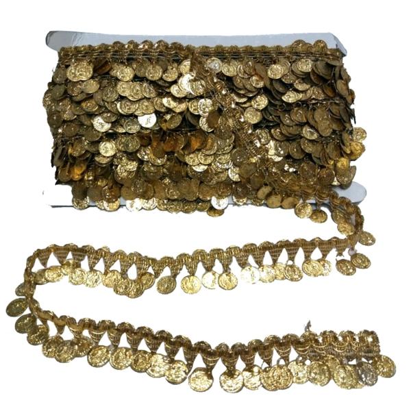Metro galón monedas oro