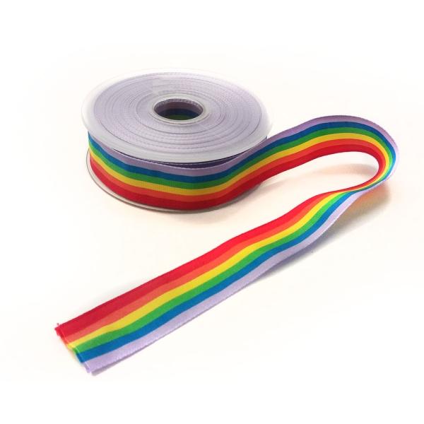 Metro cinta bandera LGTBI ancho 25mm