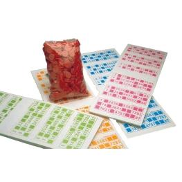 Paquete bingo 300 hojas