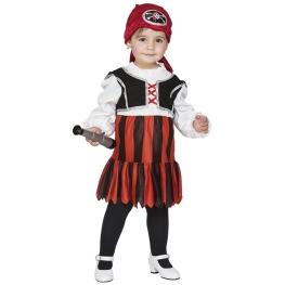 Disfraz de Pirata para bebé y niña